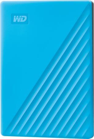 Жесткий диск WD Original USB 3.0 2Tb WDBYVG0020BBL-WESN My Passport 2.5 голубой