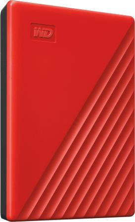 Жесткий диск WD Original USB 3.0 2Tb WDBYVG0020BRD-WESN My Passport 2.5 красный