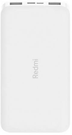 Фото - Мобильный аккумулятор Xiaomi Redmi Power Bank PB100LZM Li-Pol 10000mAh 2.6A+2.4A белый 2xUSB внешний аккумулятор rivapower va2010 10000mah