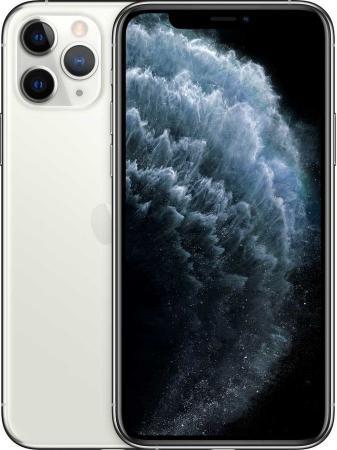 "Смартфон Apple iPhone 11 Pro серебристый 5.8"" 64 Гб NFC LTE Wi-Fi GPS 3G Bluetooth MWC32RU/A смартфон apple iphone 6 plus серый 5 5 64 гб nfc lte wi fi gps mgah2ru a"