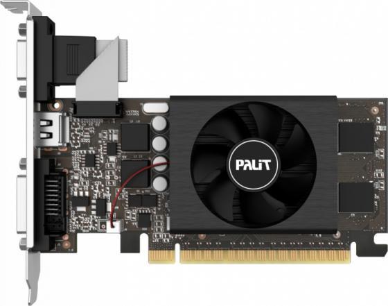 Видеокарта Palit GeForce GT 710 GeForce GT 710 (1024MB GDDR5) PCI-E 1024Mb GDDR5 64 Bit Retail NE5T7100HD06-2081F цена и фото