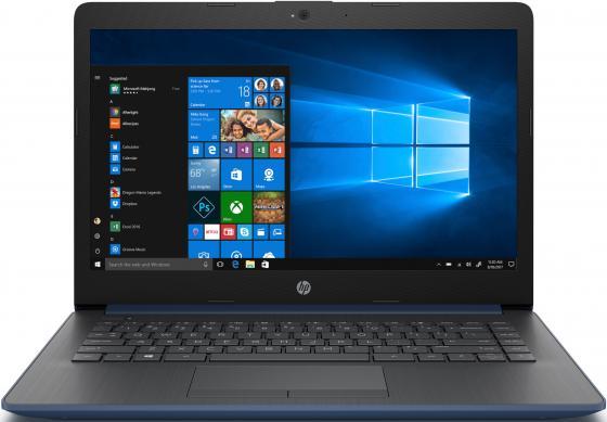 Ноутбук HP 14-cm1007ur Ryzen 3 3200U/8Gb/SSD256Gb/AMD Radeon Vega 3/14/SVA/HD (1366x768)/Windows 10/blue/WiFi/BT/Cam