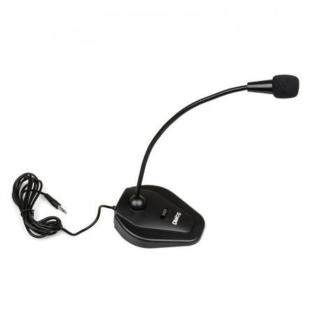 Микрофон Dialog M-135B Black Конденсаторный / 50-16000 Гц / miniJack 3.5 мм стоимость