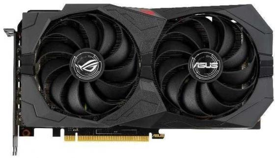 Видеокарта Asus PCI-E ROG-STRIX-GTX1660S-O6G-GAMING nVidia GeForce GTX 1660SUPER 6144Mb 192bit GDDR6 1530/14002/HDMIx2/DPx2/HDCP Ret видеокарта пк asus geforce gtx 1060 1620mhz pci e 3 0 6144mb 8208mhz 192 bit dvi 2xhdmi hdcp strix gtx1060 o6g gaming