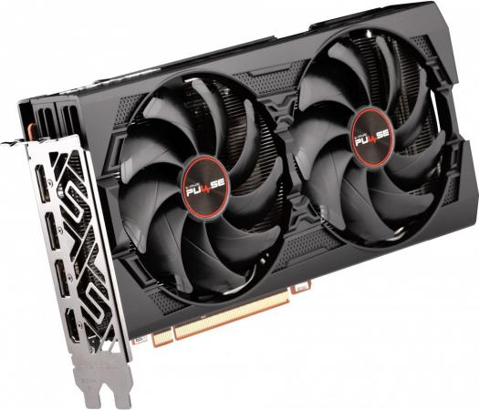 Видеокарта Sapphire PCI-E 4.0 11295-01-20G PULSE RX 5500XT 8G OC AMD Radeon RX 5500XT 8192Mb 128bit GDDR6 1737/14000/HDMIx1/DPx3/HDCP Ret цена и фото