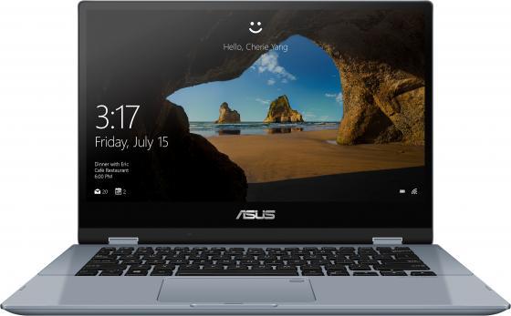 "Asus TP412FA-EC260T [90NB0N32-M06100] silver blue 14"" {FHD TS i3-8145/4Gb/128Gb SSD/W10} цена и фото"