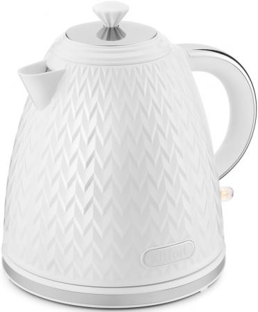 Чайник электрический Kitfort КТ-681 1.7л. 2200Вт белый (корпус: пластик) чайник kitfort кт 681 white
