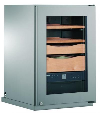 Холодильник Liebherr Zkes 453 Humidor серебристый (однокамерный) цена и фото