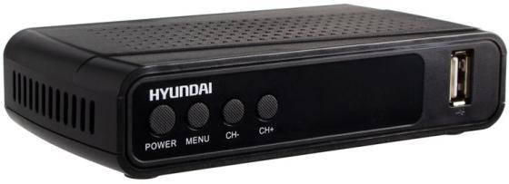 Фото - Ресивер DVB-T2 Hyundai H-DVB520 черный ресивер dvb c hyundai h dvb840 черный