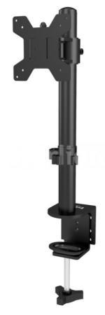 Фото - Кронштейн для мониторов ЖК Buro M061 черный 15-32 макс.8кг крепление к столешнице поворот и наклон кронштейн для мониторов жк buro m062 черный 17 27 макс 8кг потолочный поворот и наклон