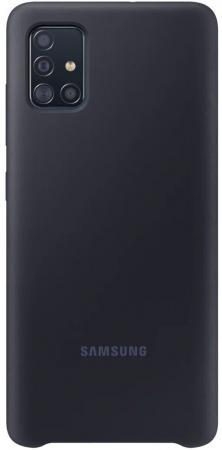 цена Чехол (клип-кейс) Samsung для Samsung Galaxy A51 Silicone Cover черный (EF-PA515TBEGRU) онлайн в 2017 году