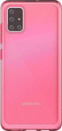 Чехол (клип-кейс) Samsung для Samsung Galaxy A51 araree A cover красный (GP-FPA515KDARR) чехол клип кейс samsung araree a cover для samsung galaxy a51 синий [gp fpa515kdalr]
