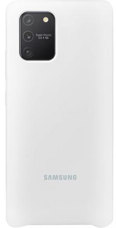 Чехол (клип-кейс) Samsung для Samsung Galaxy S10 Lite Silicone Cover белый (EF-PG770TWEGRU) фото