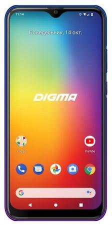 Смартфон Digma CITI 653 синий 6.53 64 Гб NFC LTE Wi-Fi GPS 3G Bluetooth CS6062ML цена