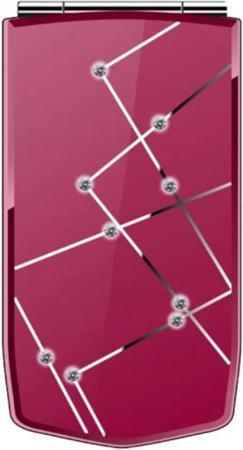 цена на Мобильный телефон ARK Benefit V4 красный раскладной 2Sim 2.8 240x320 0.3Mpix GSM900/1800 GSM1900 MP3 FM microSD