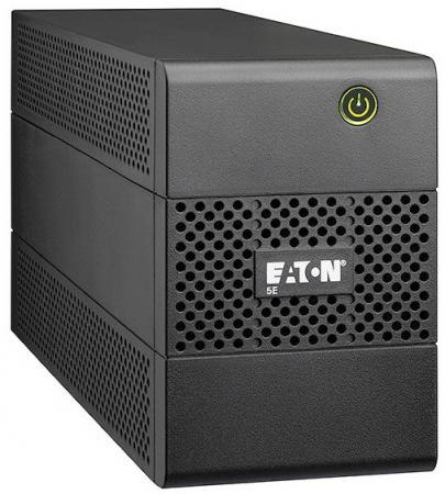 UPS Eaton 5E 650i DIN, line-interactive, tower housing construct, 650VA, 360W, 1pcs Schuko sockets, battery capacity 1 x 12V / 7Ah, WxDxH 100x288x148mm., Weight 4.6kg., 2 year warranty, warranty .