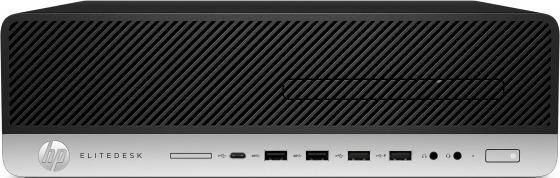 Компьютер HP EliteDesk 800 G5 Intel Core i7 9700 16 Гб SSD 512 Гб Intel UHD Graphics 630 Windows 10 Pro 7PF03EA компьютер hp elitedesk 800 g3 core i5 7500 8gb 256gb ssd win10pro 1fu43aw