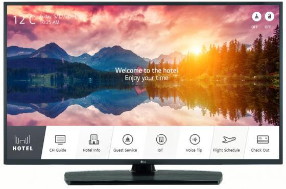 "LG 43UT661H TV 43"" Interactive Full LED/IP-RF/4K/ S-IPS/Pro:Centric/DVB-T2/C/S2/Acc clock/RS-232C/300nit"