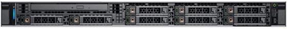 PowerEdge R340 Xeon E-2134 (3.5GHz, 4C), No RAM, No HDD (up to 8x2.5), PERC H330+, DVD+/-RW, Integrated DP 1Gb LOM, Riser 1FH+1LP, iDRAC9 Express, PSU (1)*350W, ReadyRails, 3Y Basic NBD