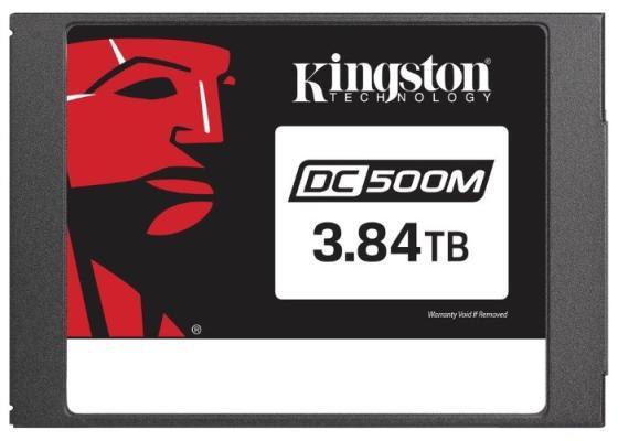 Kingston 3840GB SSDNow DC500M (Mixed-Use) SATA 3 2.5 (7mm height) 3D TLC