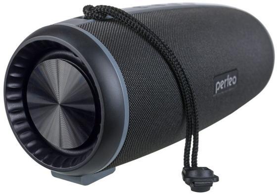 """Perfeo Bluetooth-колонка """"SHELL"""" FM, MP3 microSD, USB, AUX, мощность 12Вт, 2600mAh, черная PF_A4333"""