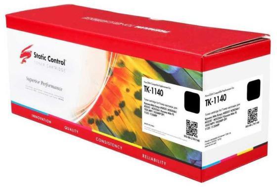 Фото - Картридж лазерный Static Control 002-08-LTK1140 TK-1140 черный (7200стр.) для Kyocera FS-1035/1135/M2535dn картридж static control tk 1140 совместимый
