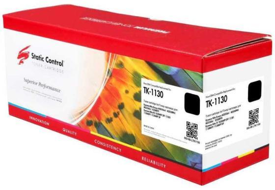 Фото - Картридж Static Control TK-1130 для Kyocera Document Solutions FS-1030 Document Solutions TK-1130 3000стр Черный картридж static control tk 1140 совместимый