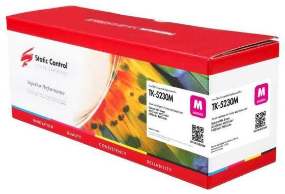 Фото - Картридж лазерный Static Control 002-08-S5230M TK-5230M пурпурный (2600стр.) для Kyocera Ecosys M5521cdn/M5521cdw/P5021cdn/P5021cdw картридж tk 5230m