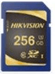 Фото - SecureDigital 256Gb Hikvision HS-SD-P10/256G {SDXC Class 10, UHS-I} камера видеонаблюдения hikvision ds 2ce57h8t vpitf 6мм