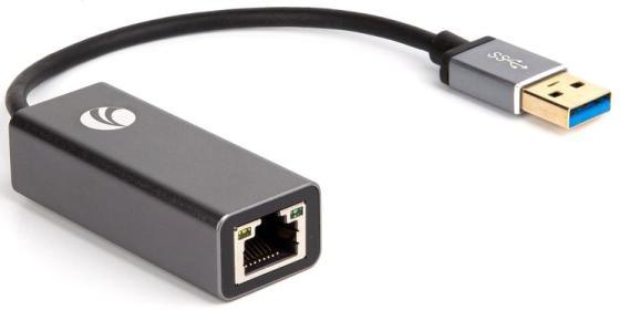Фото - VCOM DU312M Кабель-переходник USB 3.0 (Am) --> LAN RJ-45 Ethernet 1000 Mbps, Aluminum Shell, VCOM <DU312M> переходник tp link ue330 10 100 1000 10000mbps usb 3 0