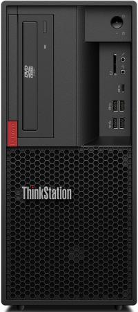 ПК Lenovo ThinkStation P330 MT i7 9700 (3)/16Gb/SSD256Gb/P1000 4Gb/DVDRW/CR/Windows 10 Professional 64/GbitEth/250W/клавиатура/мышь/черный цена и фото
