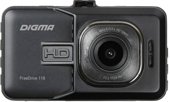 Видеорегистратор Digma FreeDrive 118 черный 1.3Mpix 1080x1920 1080p 150гр. JL5112