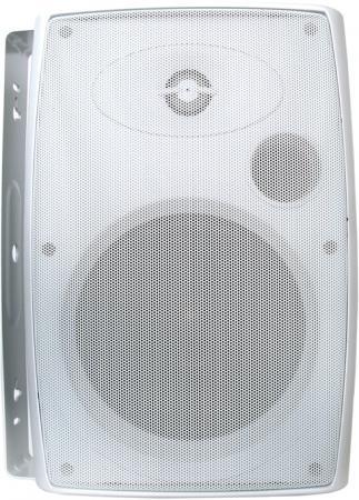 Акустика Current Audio [OC65W] 6,5 всепогодная, двухполосная, 47Гц-20кГц, 8 Ом, 5-125 Вт, материал вуфера - полипропилен, твитера- титан. Цвет белый. (Компл. 2 шт. - 1 место) (92039)
