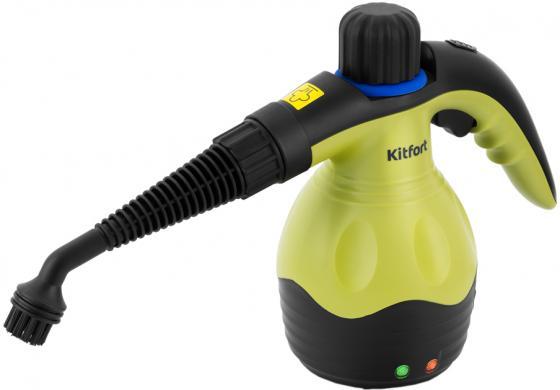 950-КТ Ручной пароочиститель Kitfort Мощность1000 Вт. Ёмкость бойлера 0,25 л.Время нагрева 3 мин. цена и фото