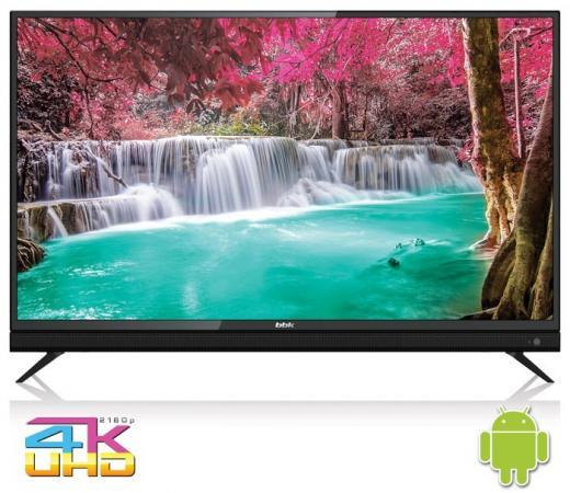 Фото - Телевизор LED 50 BBK 50LEX-8161/UTS2C черный 3840x2160 Wi-Fi Smart TV RJ-45 Bluetooth телевизор bbk 50lex 8161 uts2c черный