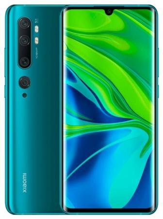 "Смартфон Xiaomi Mi Note 10 Pro зеленый 6.47"" 256 Гб LTE NFC Wi-Fi GPS 3G Bluetooth"