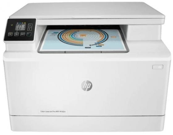 Фото - МФУ лазерный HP Color LaserJet Pro MFP M182n (7KW54A) A4 Net белый мфу лазерный hp color laserjet pro m479fnw a4 цветной лазерный белый [w1a78a]