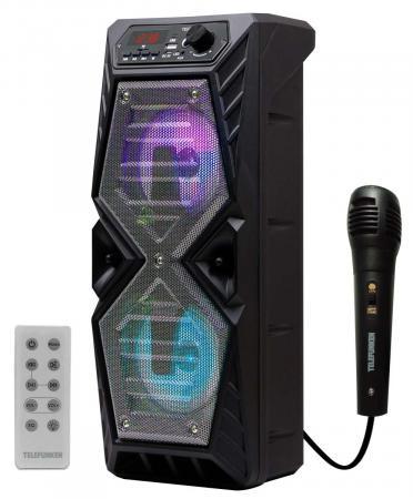 лучшая цена Колонка порт. Telefunken TF-PS1276B черный 35W 2.0 BT/3.5Jack/USB (TF-PS1276B(ЧЕРНЫЙ))