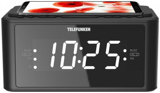Радиоприемник настольный Telefunken TF-1595U черный радиоприемник telefunken tf csrp3480 silver