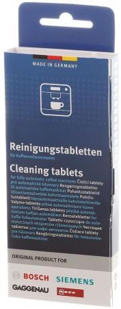 Очищающие таблетки для кофемашин Bosch 00311909 (упак.:4шт) очищающие таблетки для кофемашин bosch 00311864 упак 10шт