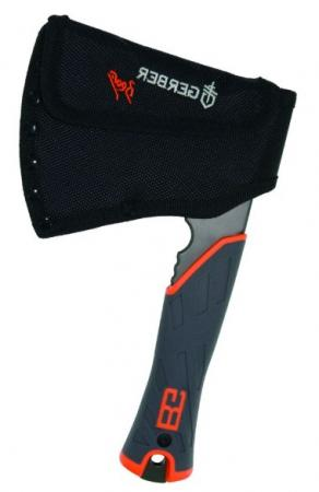 Топор Gerber Bear Grylls Hatchet черный/оранжевый в комплекте:чехол-ножны (1014063) gerber bear grylls hatchet