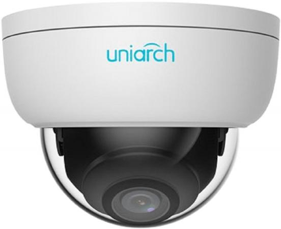 Видеокамера IP UNV IPC-D114-PF28 2.8-2.8мм цветная корп.:белый