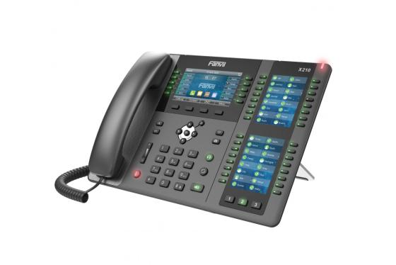 Телефон IP Fanvil X210 черный цена и фото