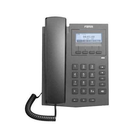 Телефон IP Fanvil X1S черный voip телефон fanvil x3sp черный