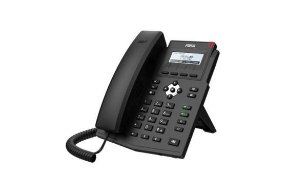Телефон IP Fanvil X1SP черный цена и фото
