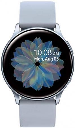 Смарт-часы Samsung Galaxy Watch Active2 44мм 1.4 Super AMOLED серебристый (SM-R820NZSRSER) смарт часы samsung galaxy watch active2 40мм 1 2 super amoled черный sm r830nzkaser