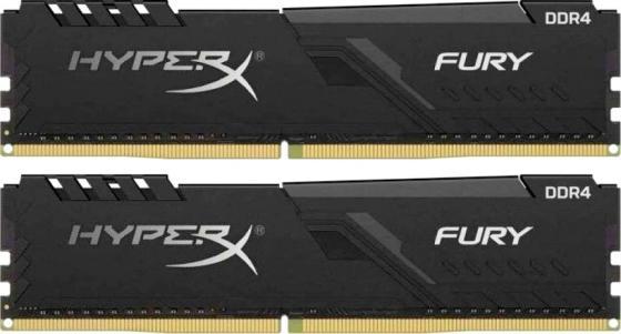 Оперативная память 32Gb (2x8Gb) PC4-29800 3733MHz DDR4 DIMM CL19 Kingston HX437C19FB3K2/32 оперативная память 16gb 2x8gb pc4 32000 4000mhz ddr4 dimm cl19 kingston hx440c19pb3k2 16