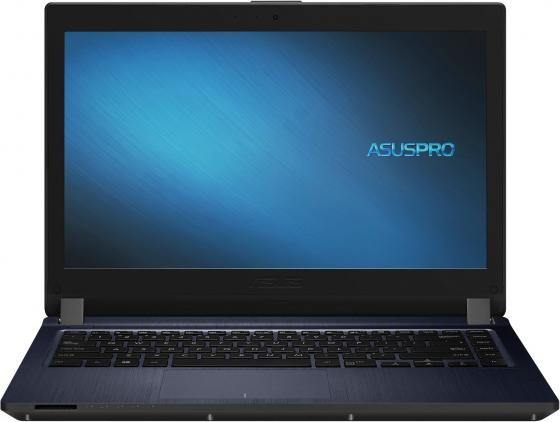 "Ноутбук Asus Pro P1440FA-FQ0177 Core i3 8145U/4Gb/500Gb/DVD-RW/Intel UHD Graphics 620/14""/HD (1366x768)/Endless/grey/WiFi/BT/Cam системный блок asus k31cd g4400 3 3ghz 4gb 500gb intel hd dvd rw win10 клавиатура мышь 90pd01r2 m08410"