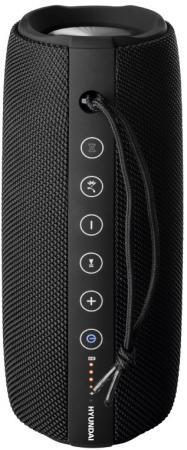 Колонка порт. Hyundai H-PAC340 черный 20W 1.0 BT/3.5Jack/USB 10м