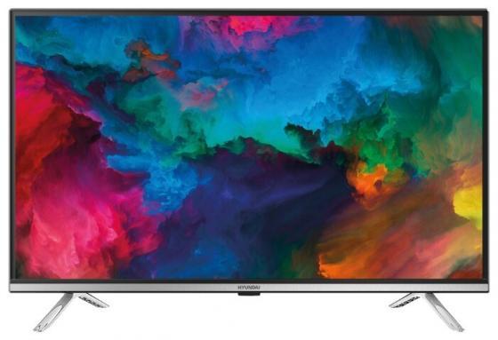 Фото - Телевизор LED 32 Hyundai H-LED32ES5008 черный 1366x768 60 Гц Wi-Fi Smart TV 2 х HDMI USB RJ-45 Bluetooth CI+ телевизор led 32 samsung ue32t4500auxru черный 1366x768 60 гц smart tv wi fi usb rj 45